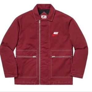 Supreme Nike Double Zip Quilted Work Jacket 2018